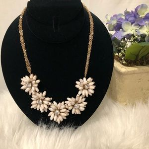 Talbots Flower Necklace